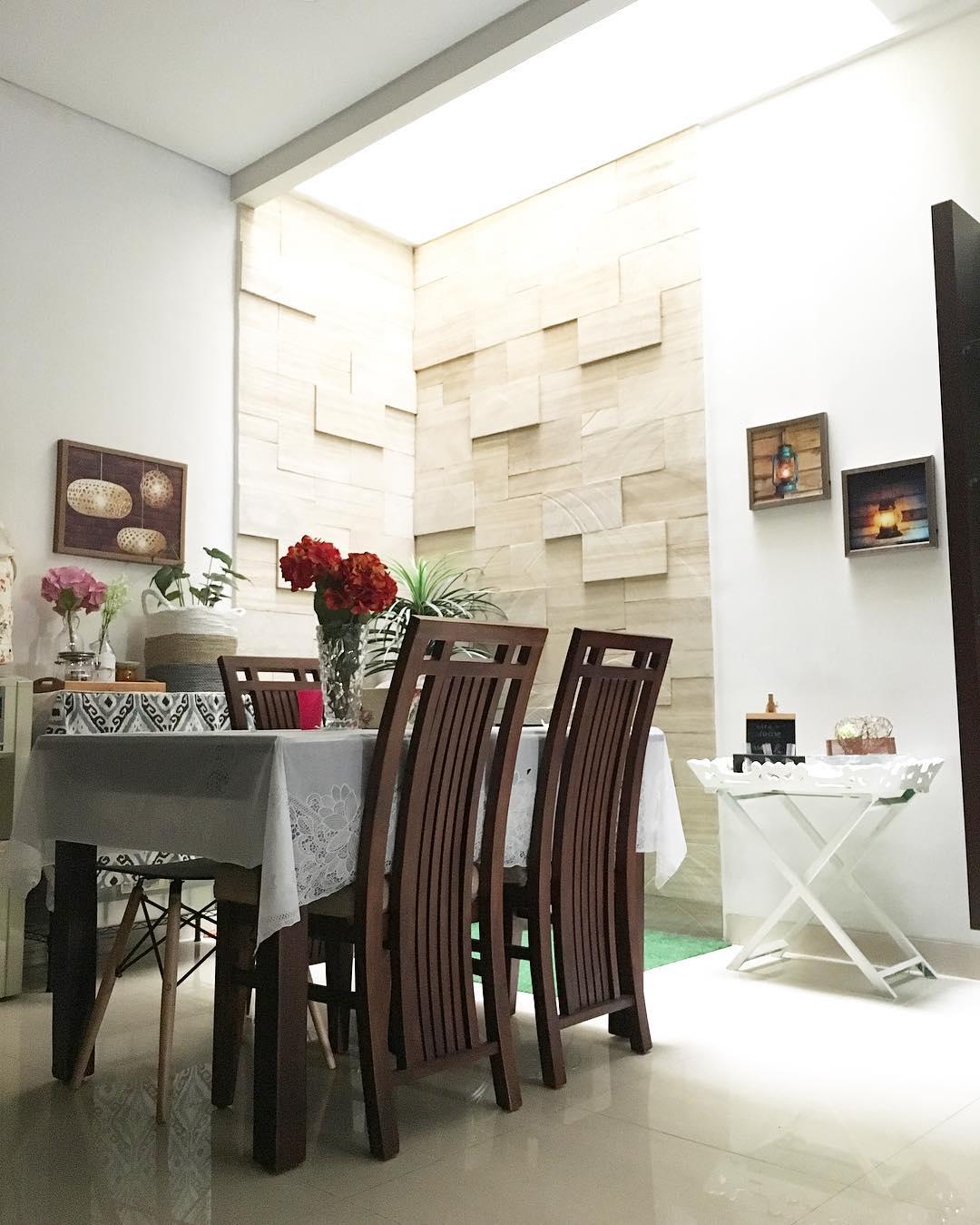 Ide Ruang Makan Minimalis Modern Menyatu Dengan Keluarga