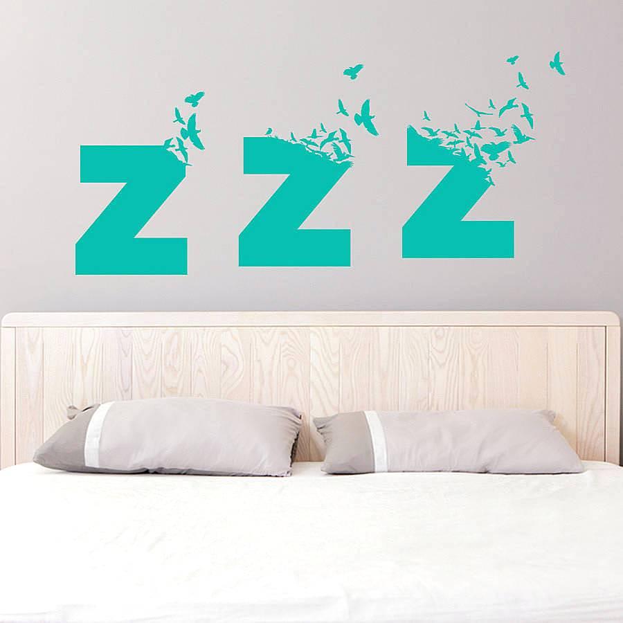 Idea Wallpaper Sticker Untuk Hiasan Dinding Kamar Tidur Kreatif
