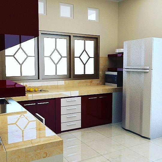 Kitchen Set Minimalis Modern Terbaru Elegan
