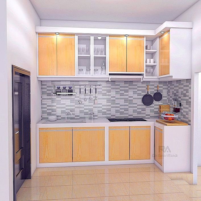 Kitchen Set Aluminium Modern Of 95 Kitchen Set Minimalis Sederhana Modern Terbaru Dekor