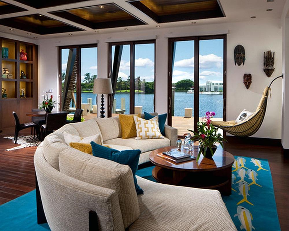 Model Desain Sofa Ruang Tamu Kecil Elegan Unik Terbaru