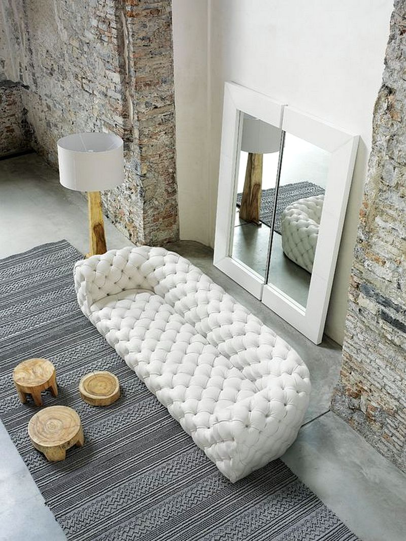 Model Desain Sofa Ruang Tamu Kecil Minimalis Terbaru 2017