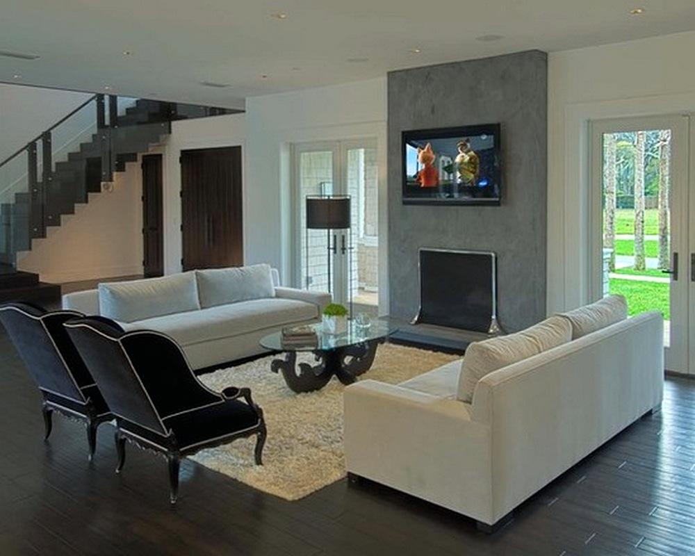 63 model desain kursi dan sofa ruang tamu kecil terbaru for Salon confortable