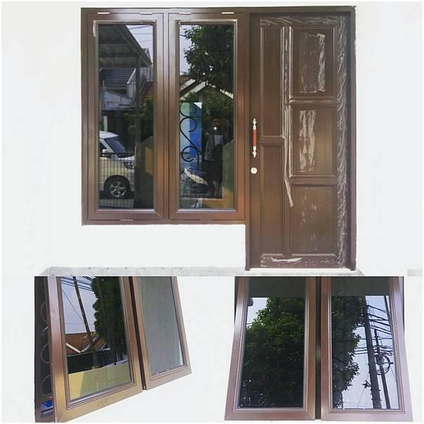 Model Jendela Rumah Bagian Depan