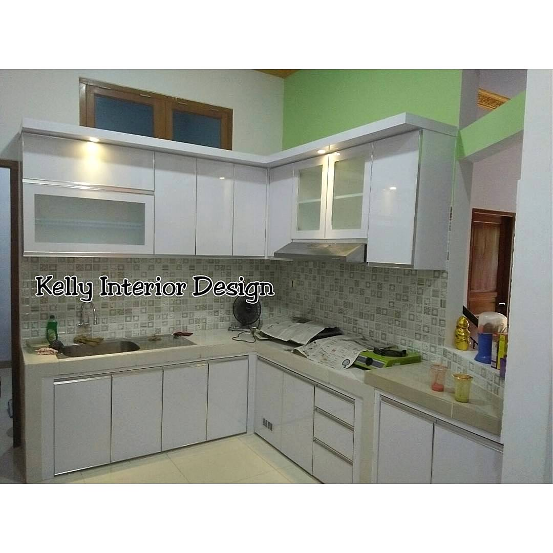 Design interior kitchen set minimalis home ideas for Model kitchen set 2016