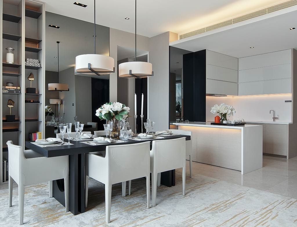 Model Ruang Makan Minimalis Menyatu Dengan Dapur 2019