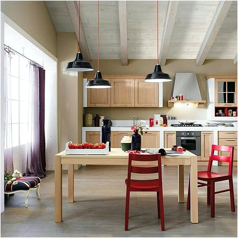 Model Desain Dapur Dan Ruang Makan Terbuka
