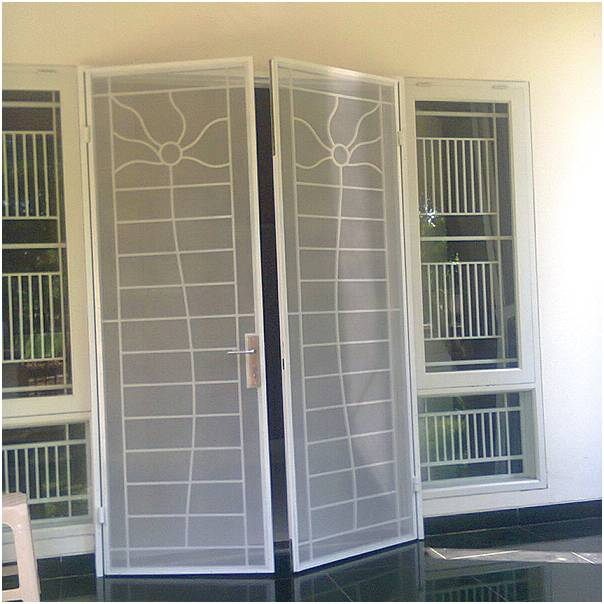 Model Pintu Bahan Besi Rumah 2 Terbaru