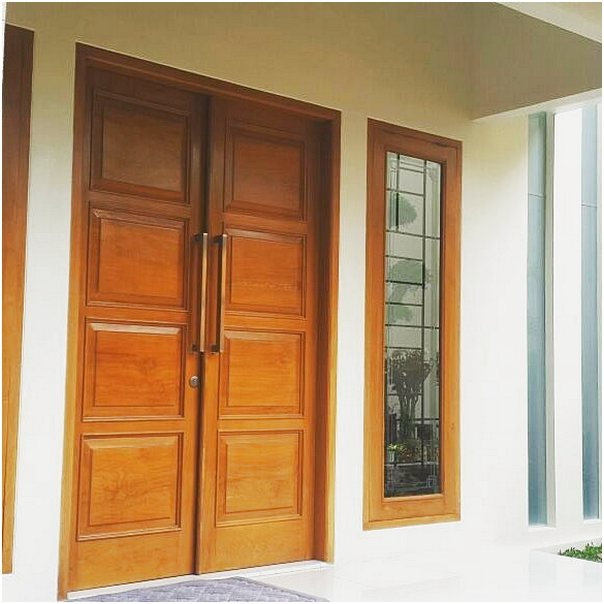52 Desain Model Pintu Utama Rumah Minimalis Terbaru Dekor Rumah