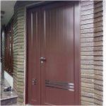 Model pintu utama rumah bahan alumunium terbaru