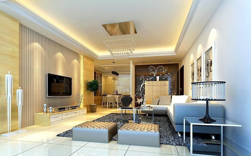 52 Model Plafon Rumah Minimalis Terbaru Dekor Kreativiti Dekorasi Ruang Tamu