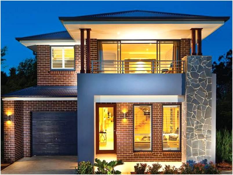 Model Rumah Minimalis 2 Lantai Modern Mewah Sederhana Unik Terbaru