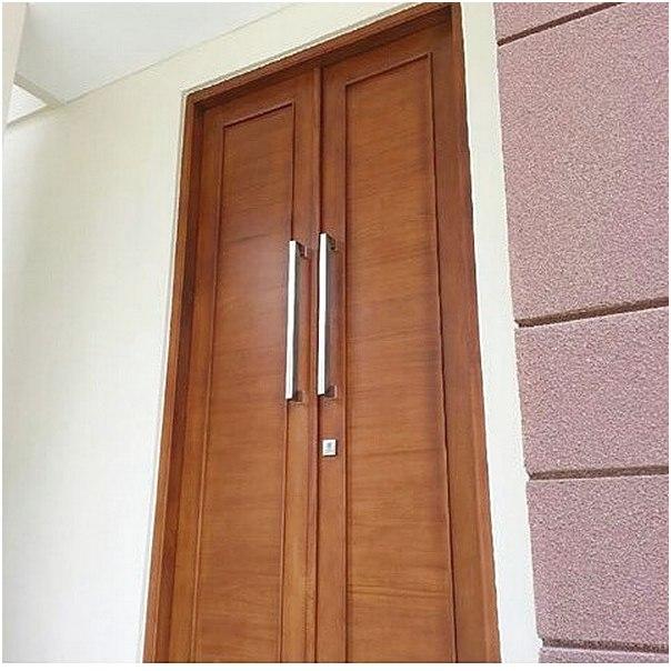Model terbaru pintu rumah minimalis 2 pintu