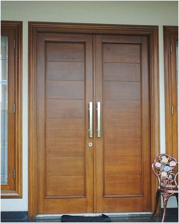 Pintu rumah 2 pintu modern terbaru
