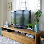 Rak Tv Minimalis Kayu