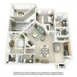 Sketsa Denah Rumah Sederhana 2 Kamar Tidur Baru