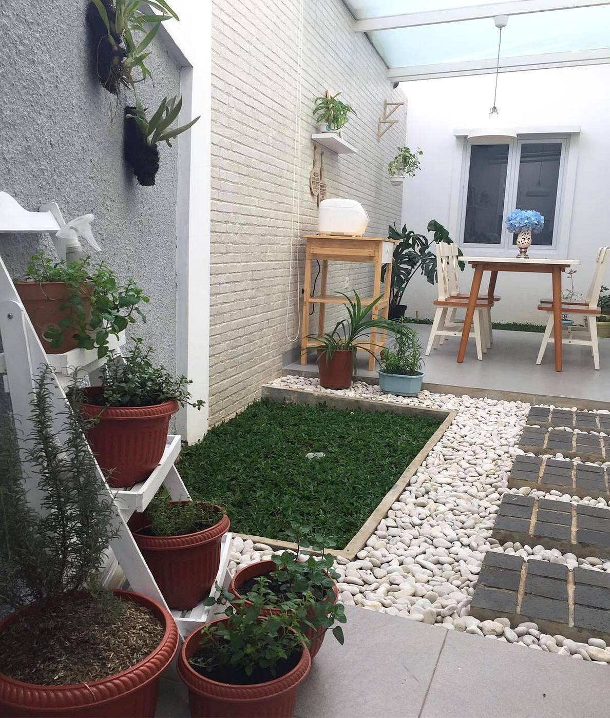 26 Desain Taman Minimalis Lahan Sempit 2018 Dekor Rumah