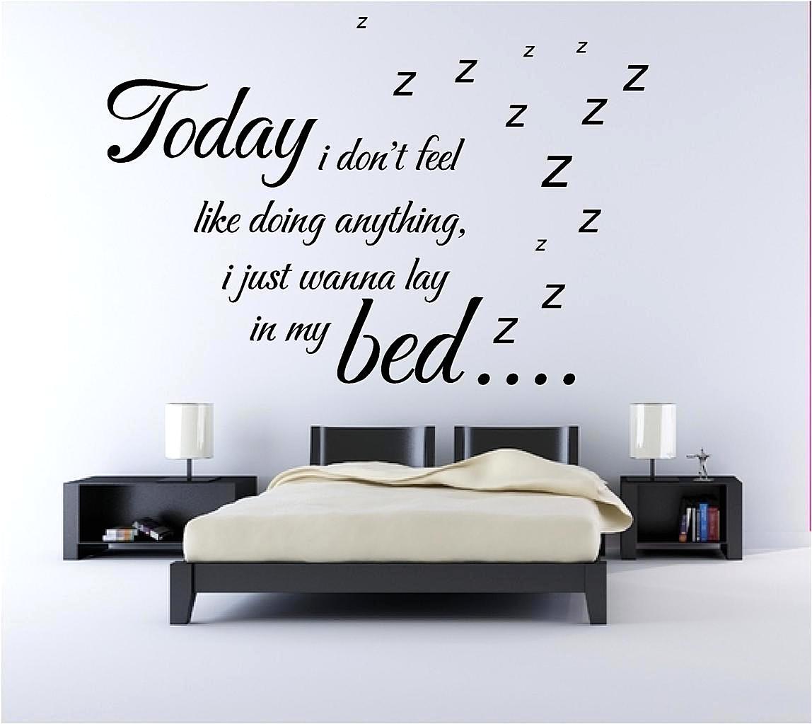 Wallpaper Sticker Untuk Hiasan Dinding Kamar Tidur Kreatif