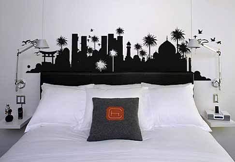 Wallpaper Sticker Untuk Hiasan Dinding Kamar Tidur