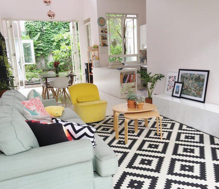 41 Ide Warna Cat Ruang Tamu Yang Cantik Terbaru | Dekor Rumah