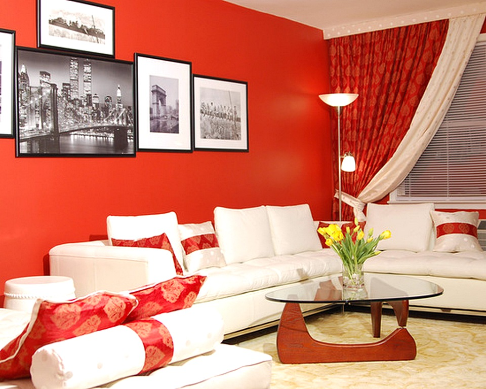 Warna Cat Ruang Tamu Yang Cantik Berwarna Merah