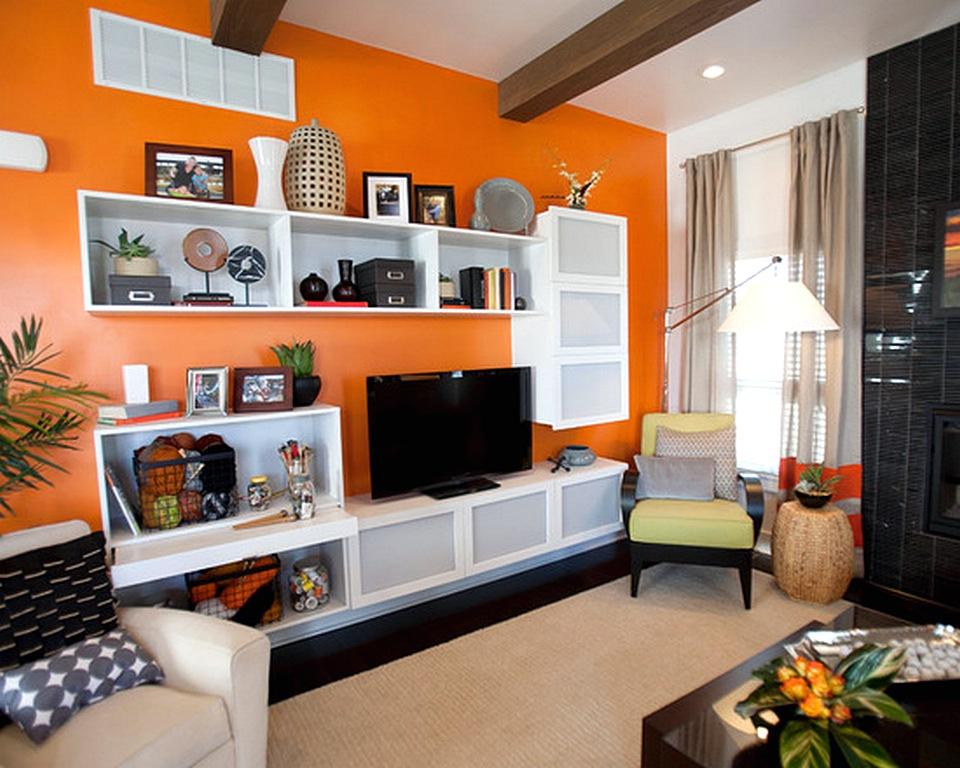 Warna Cat Yang Bagus Untuk Ruang Tamu Berwarna Orange