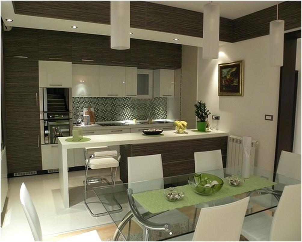Desain Dapur Dan Ruang Makan Mungil