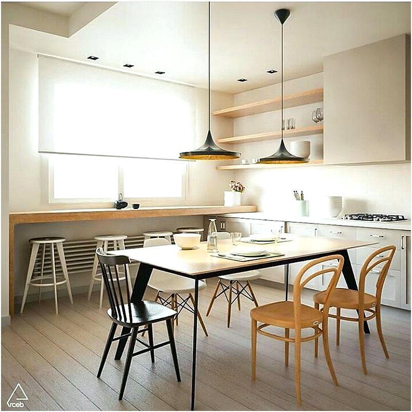 Desain Dapur Dan Ruang Makan Sederhana Modern