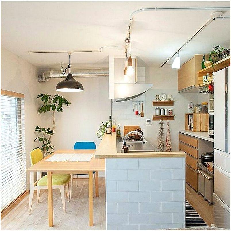 Desain Dapur Dan Ruang Makan Sempit Modern