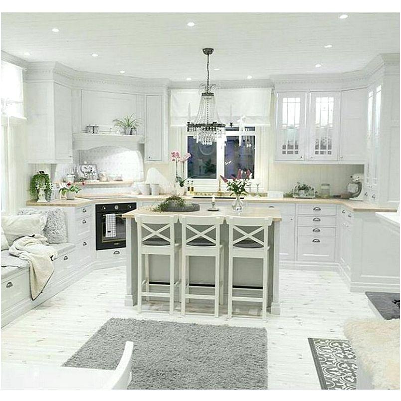 Desain Dapur Dan Ruang Makan Terbuka Modern
