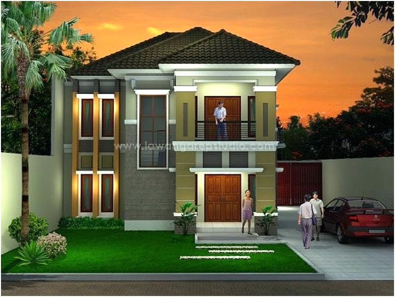 Gambar Rumah Minimalis 2 Lantai Baru
