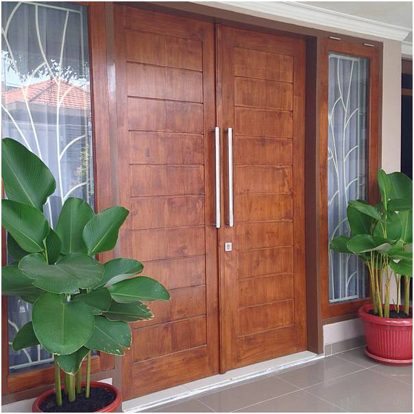 model pintu kupu tarung pintu rumah 2 pintu terbaik