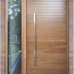 pintu gaya modern untuk pintu utama rumah minimalis
