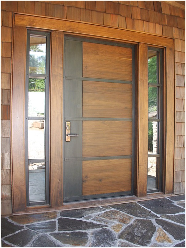 52 Desain Model Pintu Utama Rumah Minimalis Terbaru ...