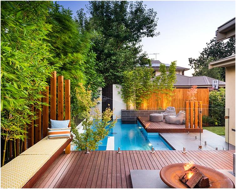 rumah minimalis dengan kolam renang kecil terbaru