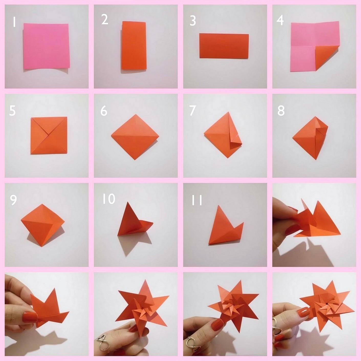 Cara Bikin Hiasan Kamar Dari Kertas Origami Ideku Unik