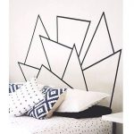 DIY Hiasan Dinding Kamar Tidur Buatan Sendiri Dari Selotip