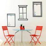 DIY Hiasan Dinding Ruang Makan Atau Kamar Tamu Dari Selotip