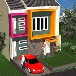 Denah Dan Desain Rumah Minimalis 2 Lantai