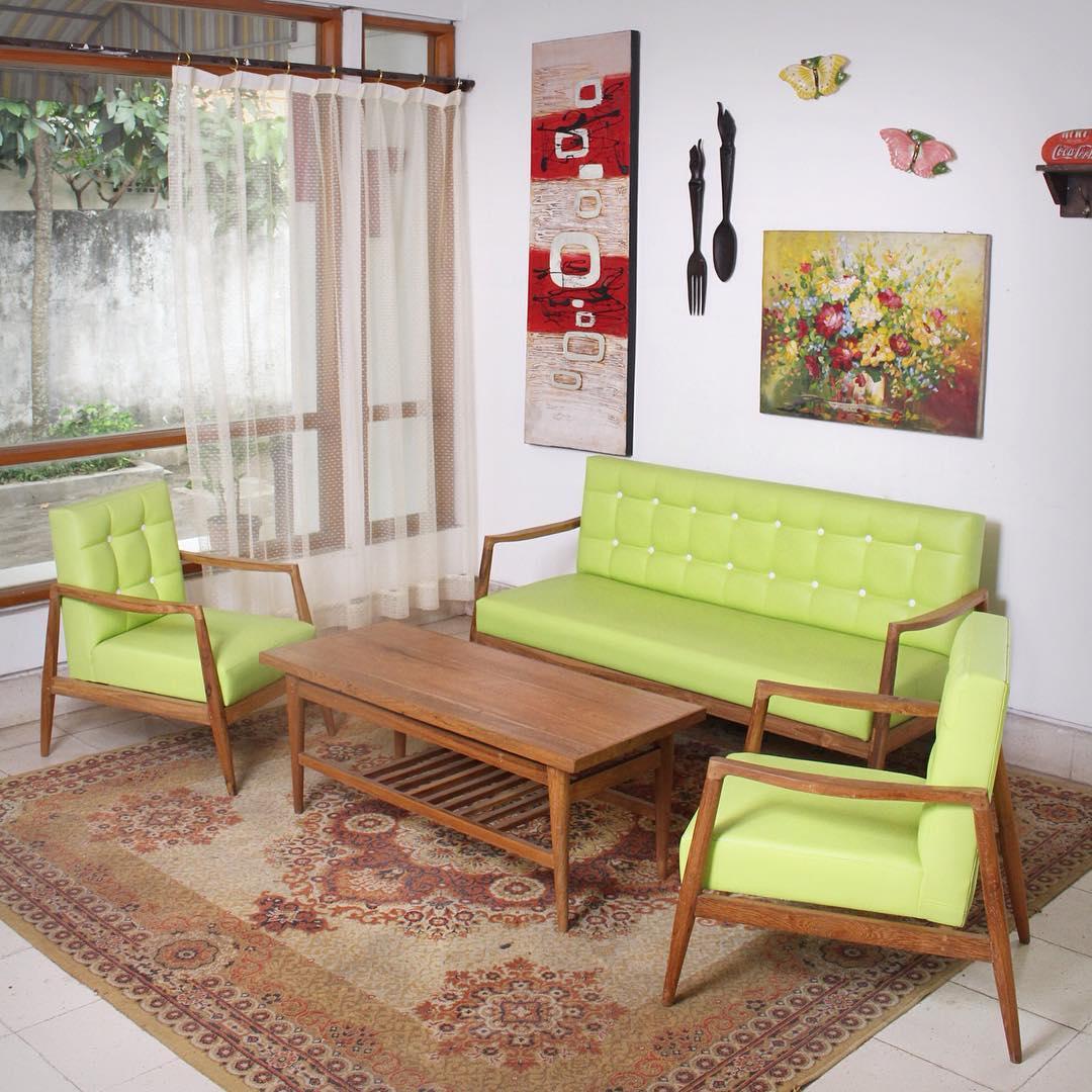27 desain ruang tamu minimalis bergaya klasik vintage