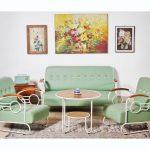 Desain Ruang Tamu Vintage Untuk Ruang Tamu Minimalis