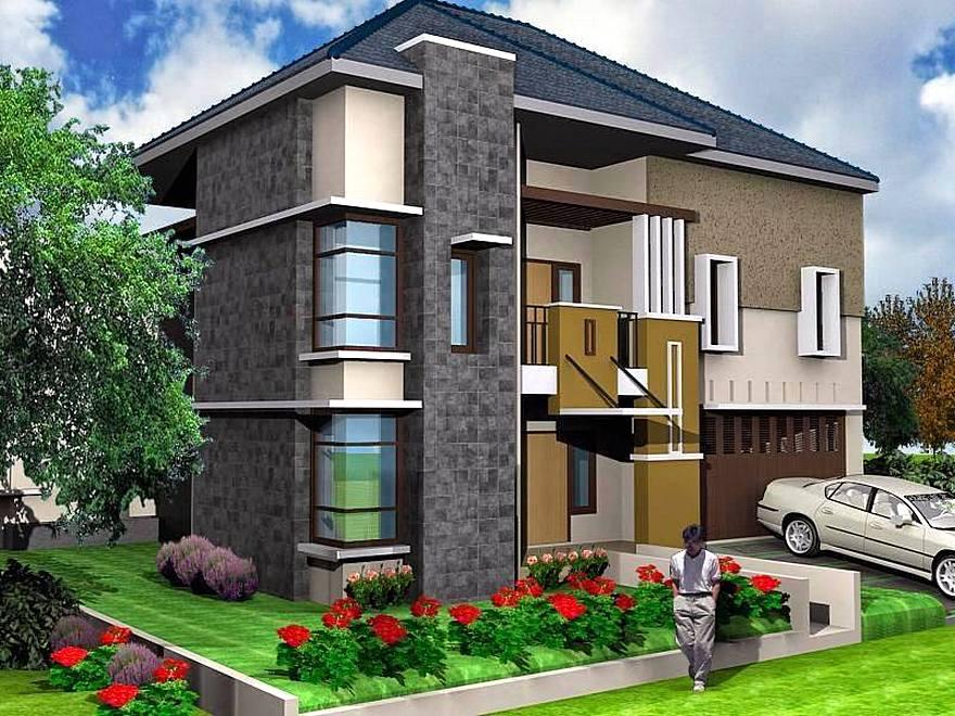 Desain Rumah Minimalis 2 Lantai 6x12 Lagi Ngetren