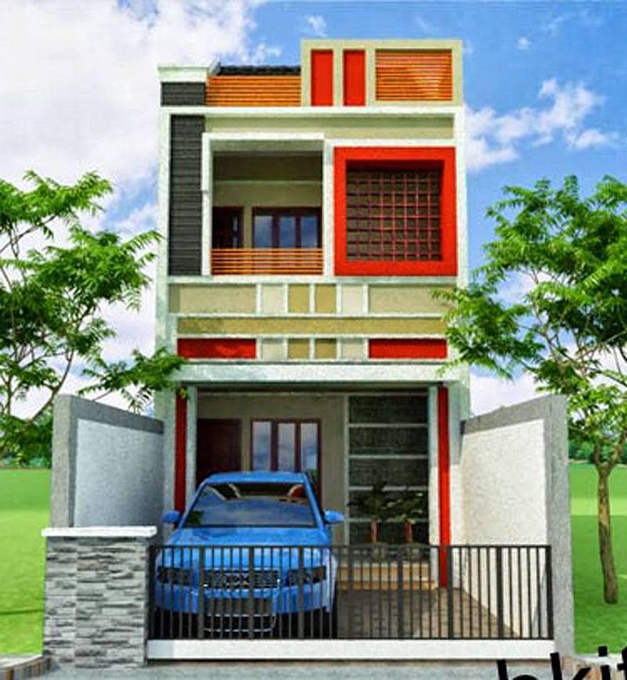Desain Rumah 2 Lantai Ukuran 6x9 Sobat Interior Gambar Minimalis