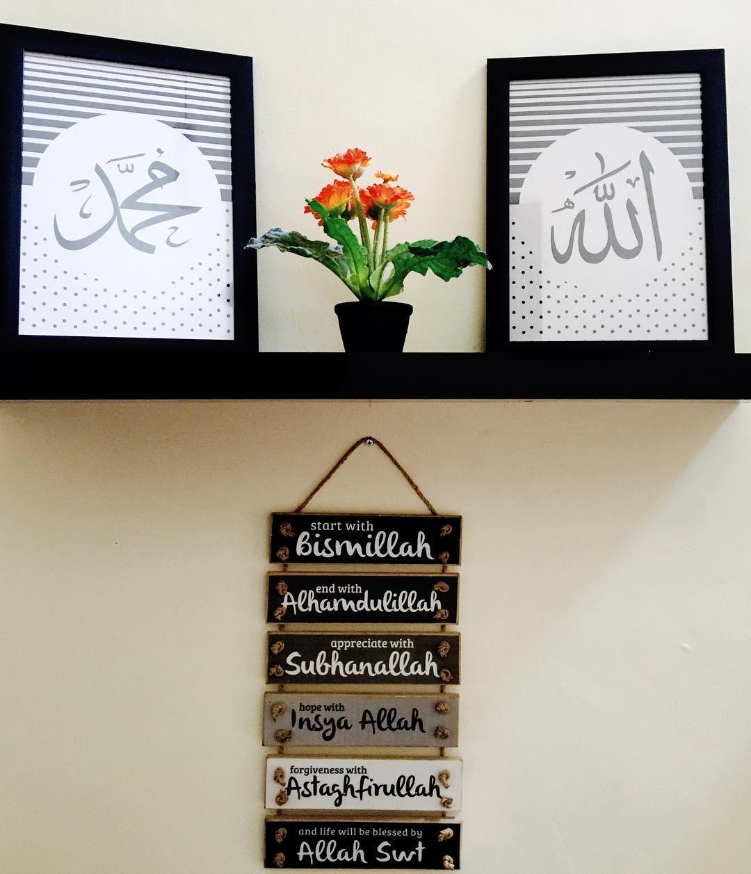 Gambar Desain Kamar Islami Contoh Sur