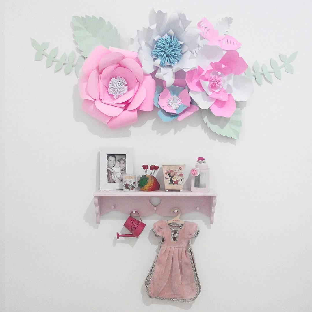 Ide Hiasan Dinding Bentuk Bunga Dari Kertas Karton