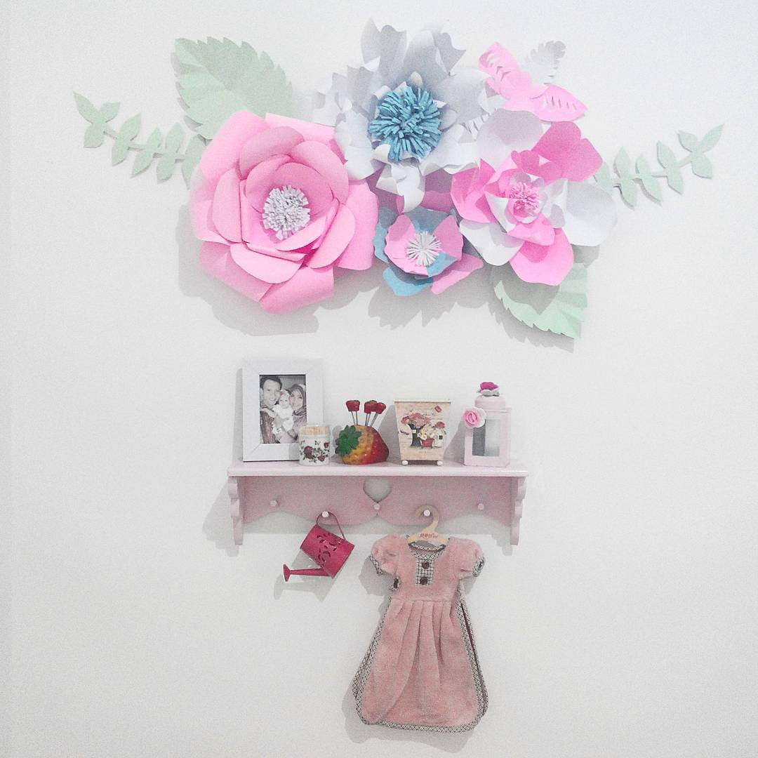 Ide dan cara membuat hiasan dinding berbentuk bunga dari kertas ide hiasan dinding bentuk bunga dari kertas karton thecheapjerseys Images