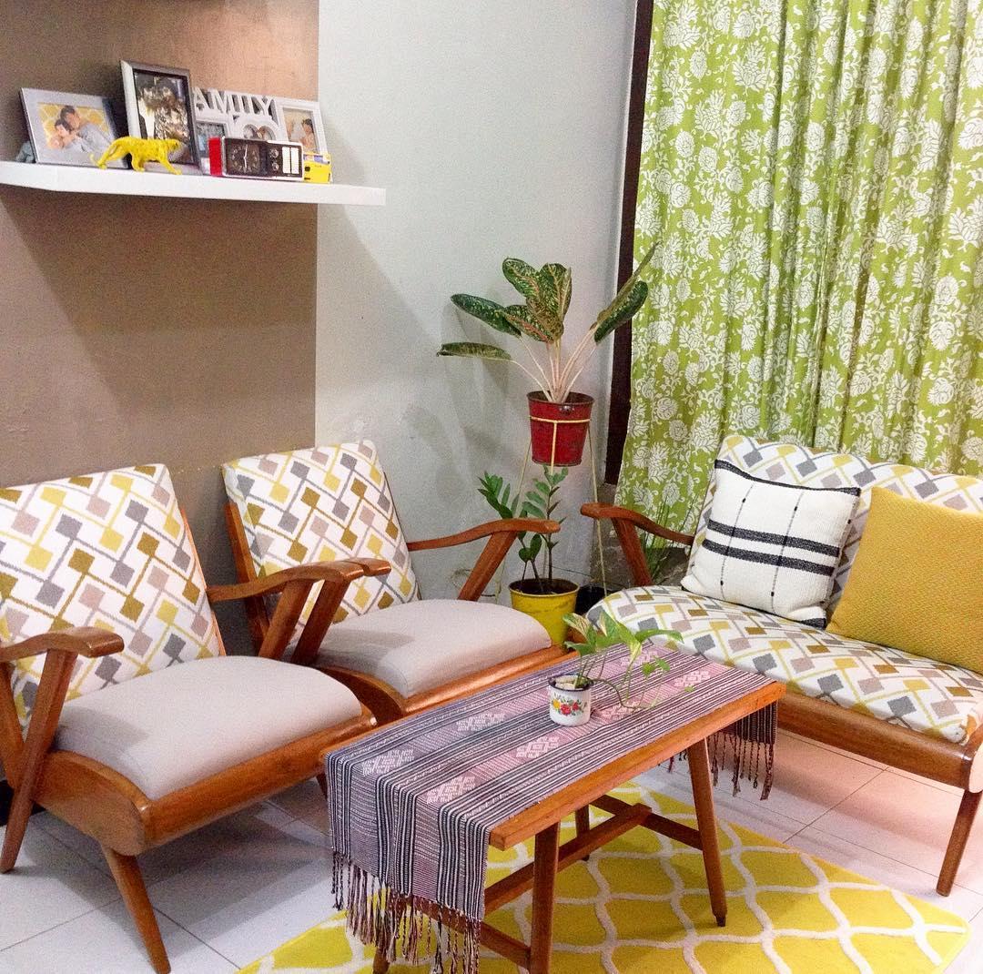 27 Desain Ruang Tamu Minimalis Bergaya Klasik Vintage ...