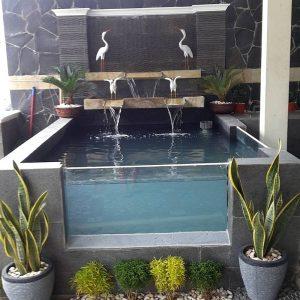 33 desain kolam ikan minimalis di lahan sempit terbaru