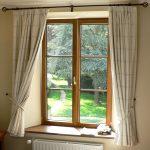 Kusen Jendela Kamar Rumah Minimalis Dengan Gorden Terbaru