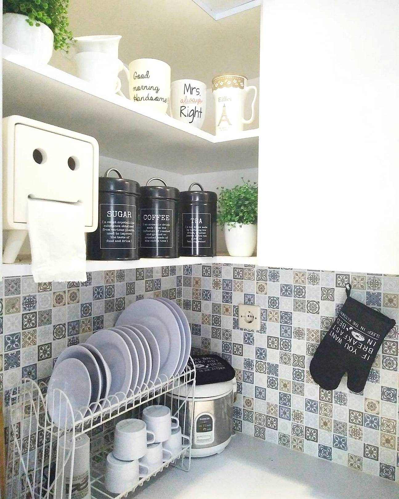 Contoh Tile Dinding Dapur Desainrumahid com